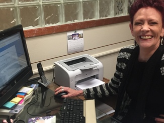 Kelly Brace, Office Paralegal